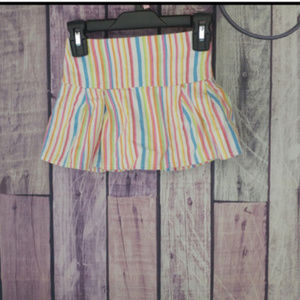 girls TCP multicolored striped skirt 24 month J22